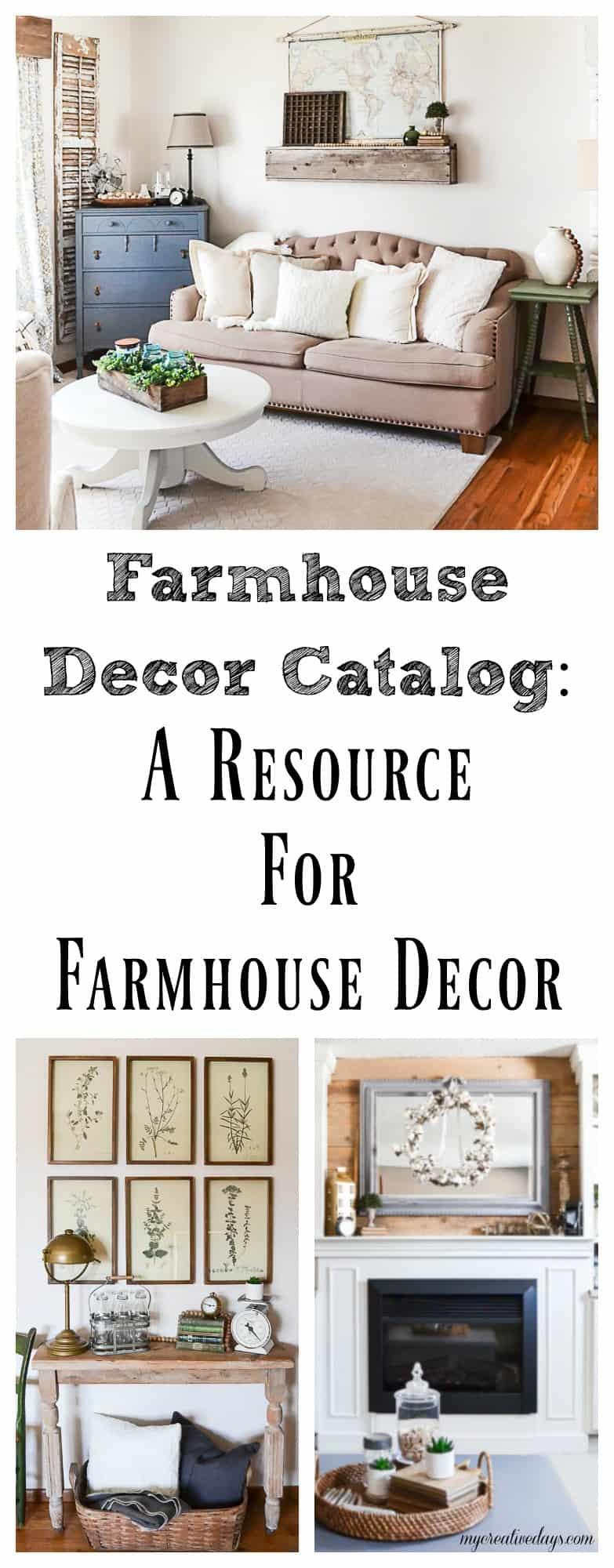 Farmhouse Decor Catalog