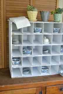Pottery Barn Cubby Shelf
