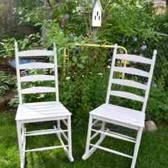 Diy Painted Windsor Chairs Crate And Barrel Curran Dining Chair The Easy Way To Paint Homemade Rocking My