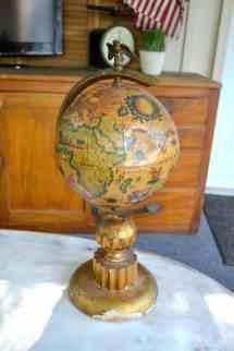 Pottery Barn Knock- Chalkboard Globe - Creative Days
