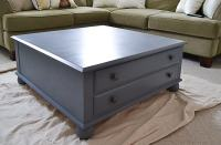 Large Square Coffee Table Makeover - My Creative Days