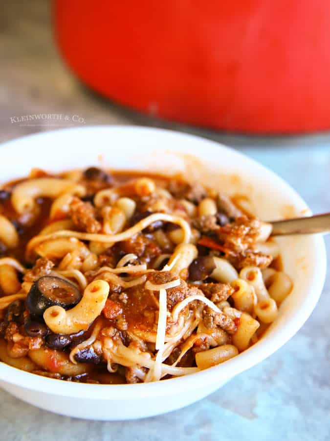 Best Chili Macaroni Recipe
