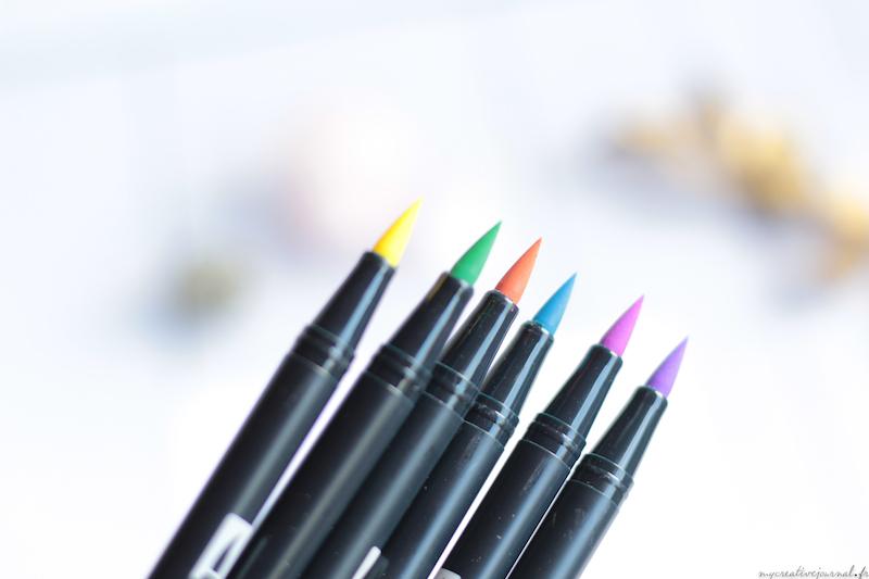 tombow feutres pinceaux pastel kit