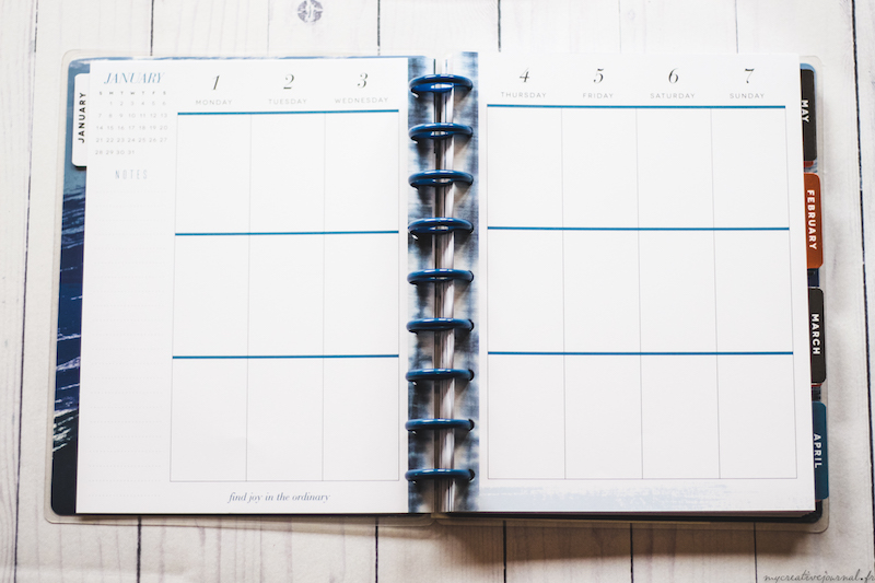 acheter happy planner 2018