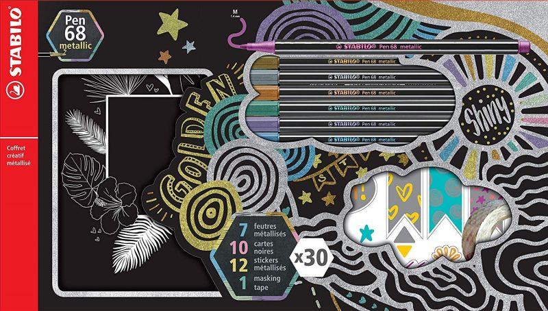 Coffret Créatif Pen 68 Metallic - STABILO
