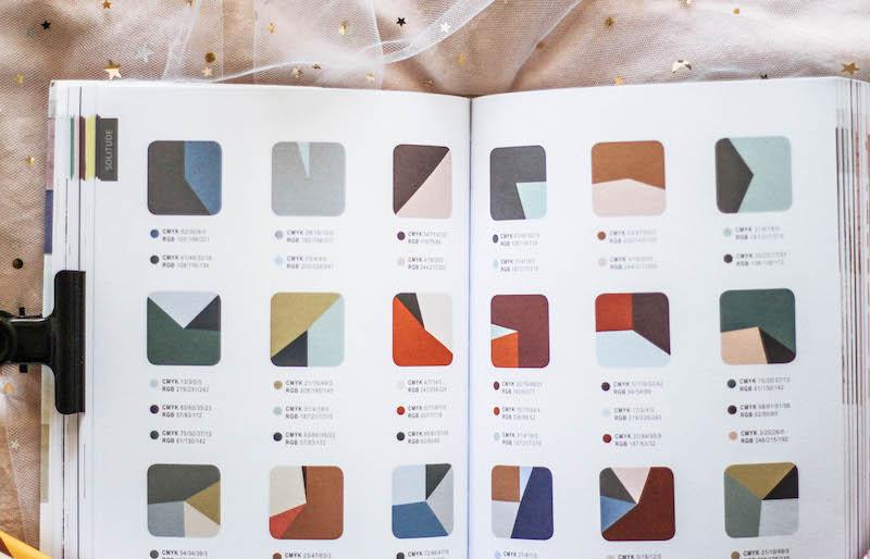 la palette parfaite inspiration artiste couleurs