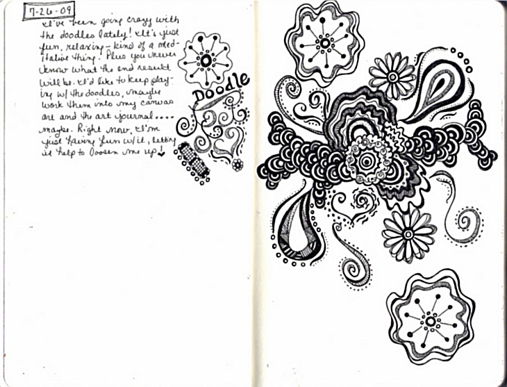 My Creative Journey: Sketchbook Doodles