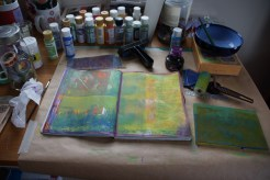 Art journal process 3