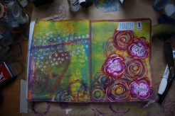 Art journal process 8a