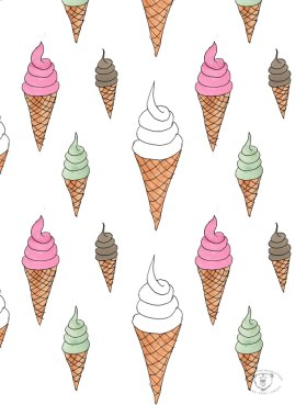 watercoloricecreamcones