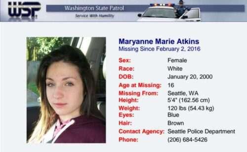 Maryanne Atkins Teen Killers