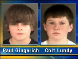 Paul Gingerich and Colt Lundy Teen Killer
