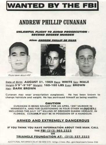 Andrew Cunanan fbi