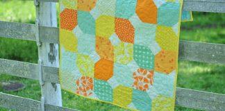 Citrus Mint Baby Quilt