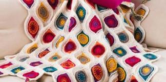 Free Pattern Quilt crochet decoration