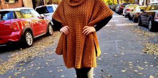 Beacon Street Poncho Crochet Pattern