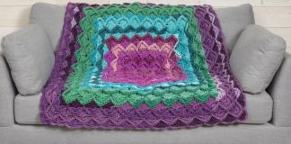 Boho Throw Blanket Free Pattern