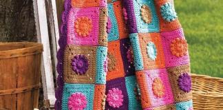 Blanket Fantasy Garden Free Patterns