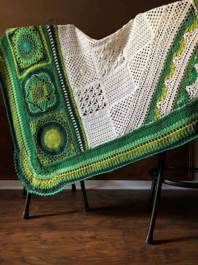 Botanica Blanket Crochet