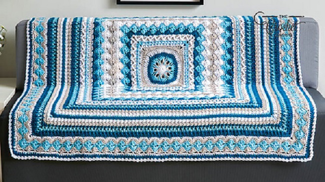 Together Throw Blanket Crochet