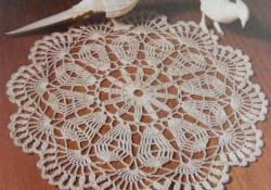 3 Minimalist Designs of Doily Crochet Pattern Doily Crochet Pattern Pdf Doilies Round Table Mat Circular Etsy