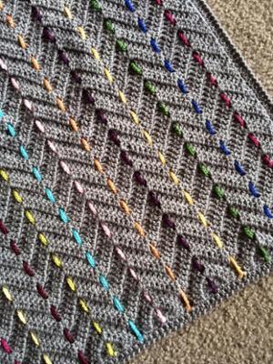 A Chevron Crochet Blanket Basic Guide Basic Chevron Crochet Stitch For Beginners
