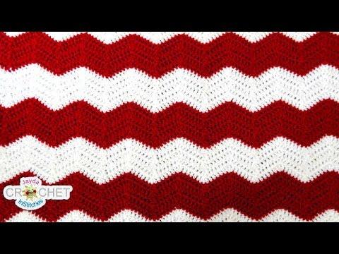 A Chevron Crochet Blanket Basic Guide Crochet Chevron Ripple Zig Zag Wave Blanket Pattern Youtube