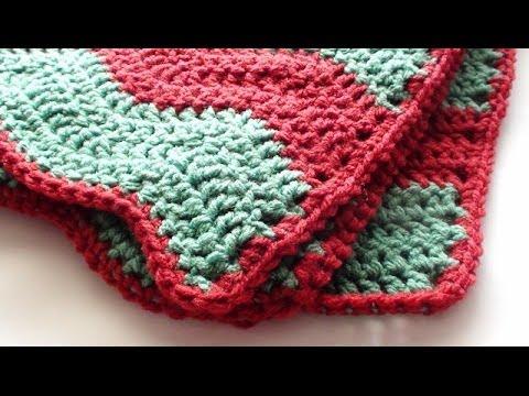 A Chevron Crochet Blanket Basic Guide Single Crochet Edging For Soft Crochet Chevron Blanket Youtube