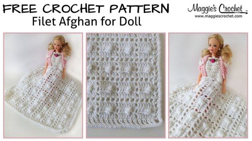 Afghans Crochet Patterns Ba Doll Filet Afghan Free Crochet Pattern Right Handed Youtube