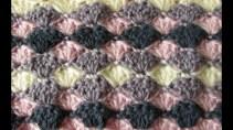 Afghans Crochet Patterns Very Easy Crochet Shell Stitch Blanket Crochet Blanketafghan For