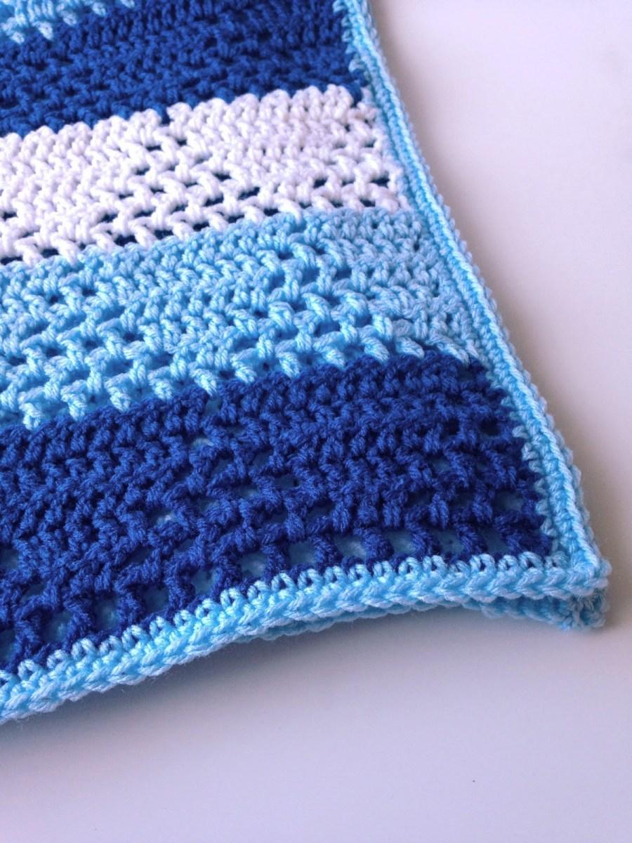 Basic & Standard Patterns for Boy Blanket Crochet 5 Little Monsters Triangles Stripes Ba Blanket