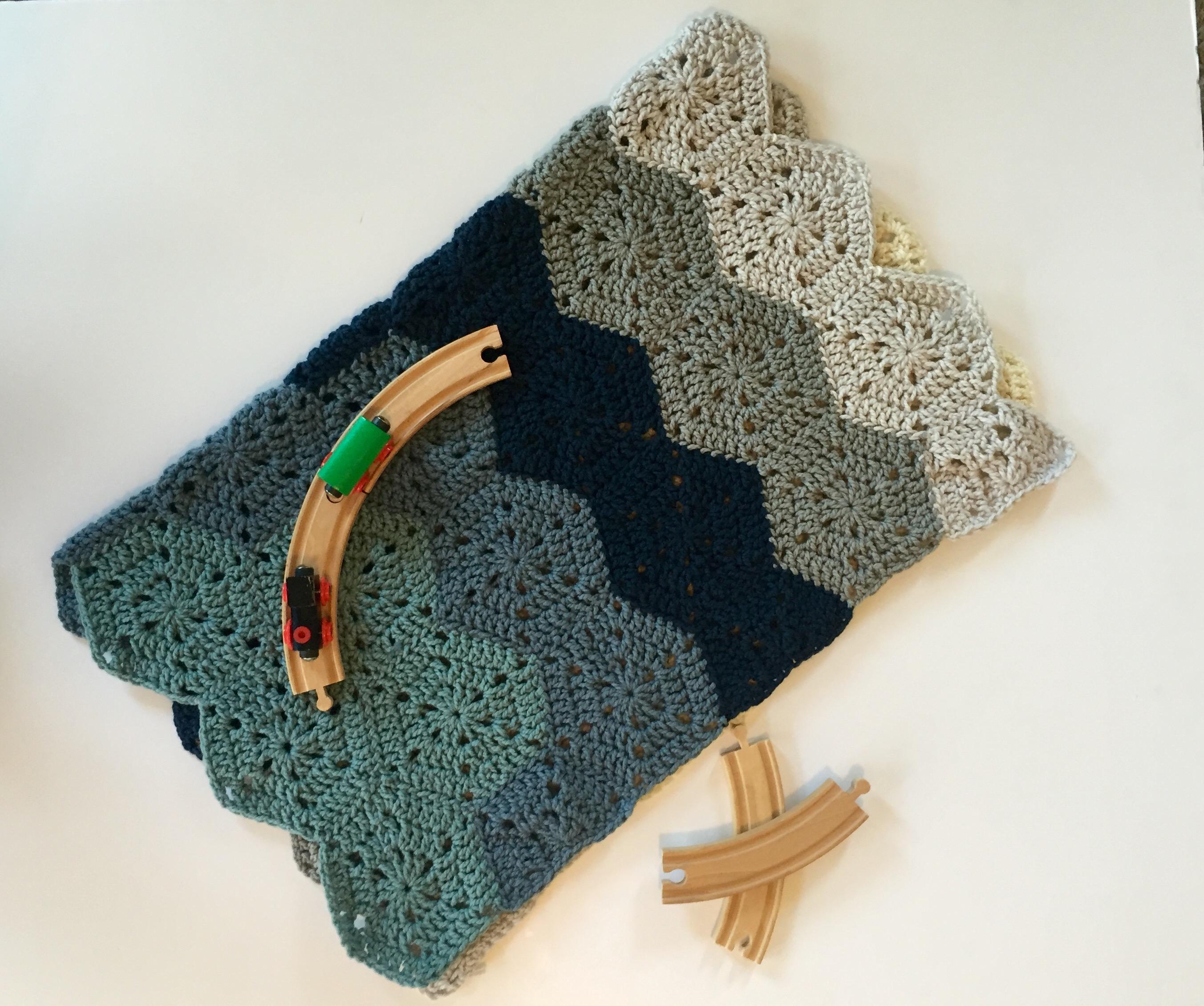 Basic & Standard Patterns for Boy Blanket Crochet Chunky Ba Blanket Crochet Kit Little Monkeys Design