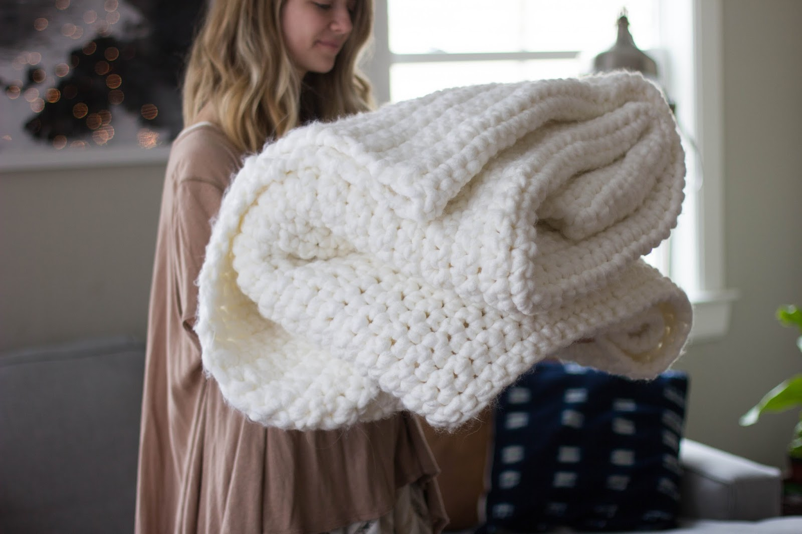 Best Products to Make with the Chunky Yarn Crochet Pattern Always Rooney Learn To Crochet Chunky Blanket
