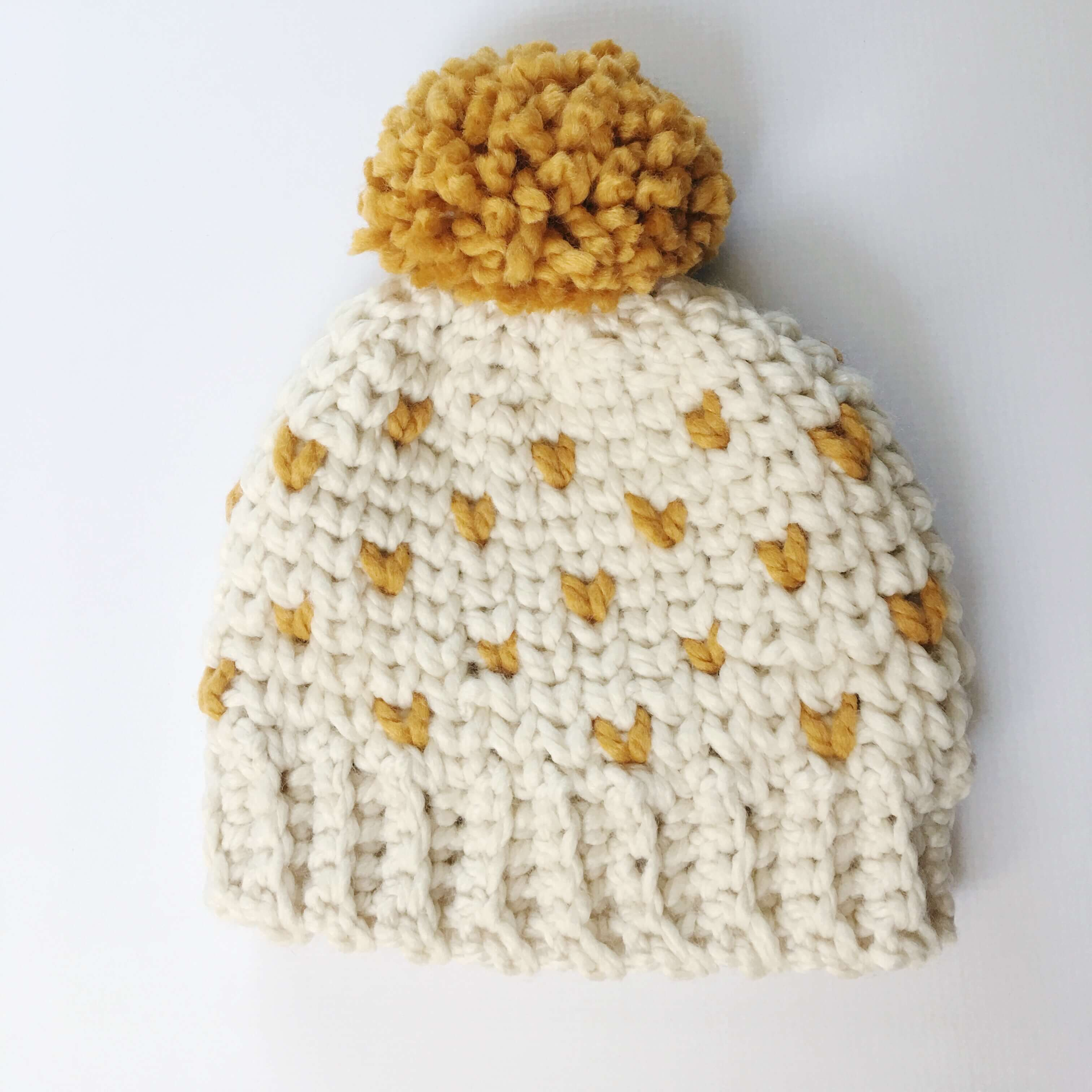 Best Products to Make with the Chunky Yarn Crochet Pattern Chunky Fair Isle Hat