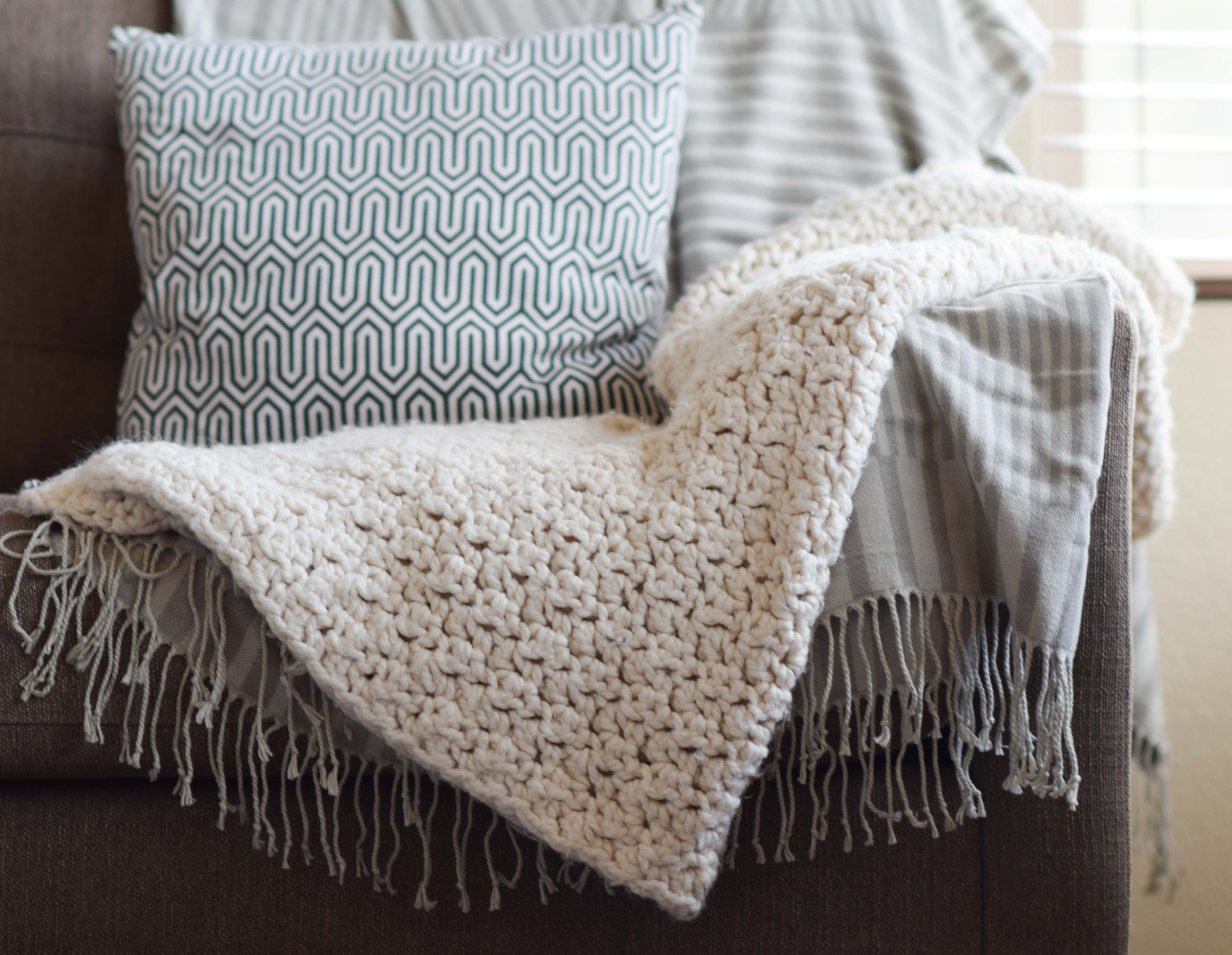 Best Products to Make with the Chunky Yarn Crochet Pattern Chunky Icelandic Crochet Blanket Pattern Mama In A Stitch