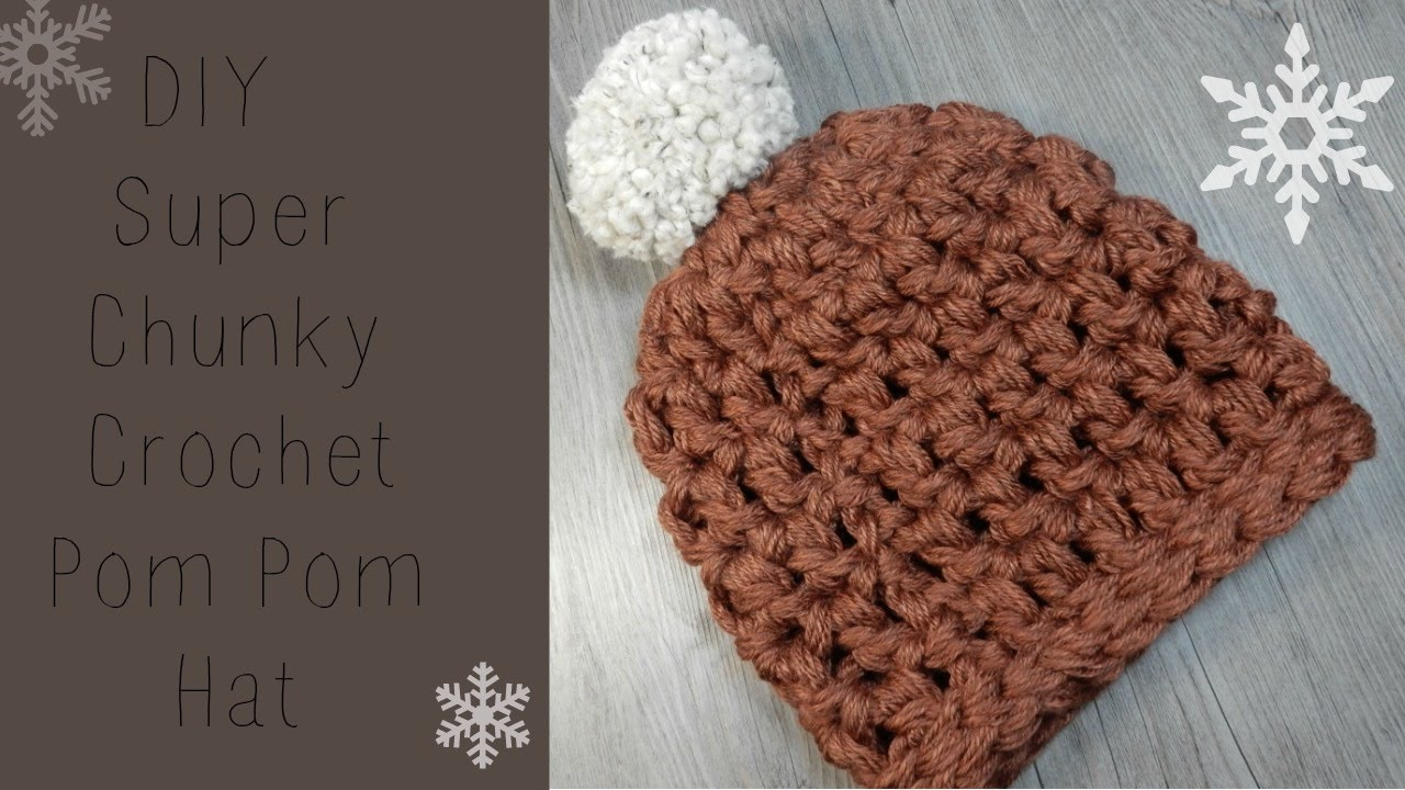 Best Products to Make with the Chunky Yarn Crochet Pattern Diy Crochet Chunky Beanie Super Fast And Easy