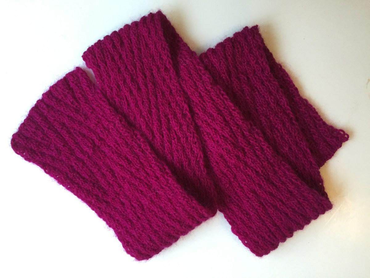 Chevron Knitting Pattern Reversible Chevron Scarf Alaska Knit Nat
