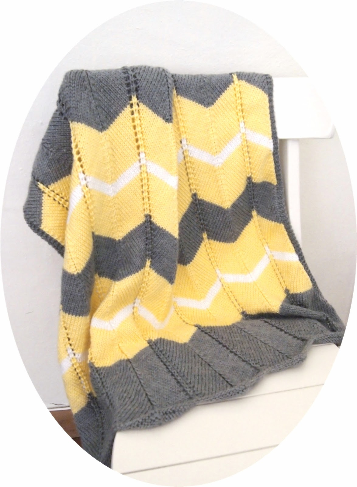 Chevron Knitting Pattern She Is Crafting My Doom Striped Chevron Ba Blanket Free