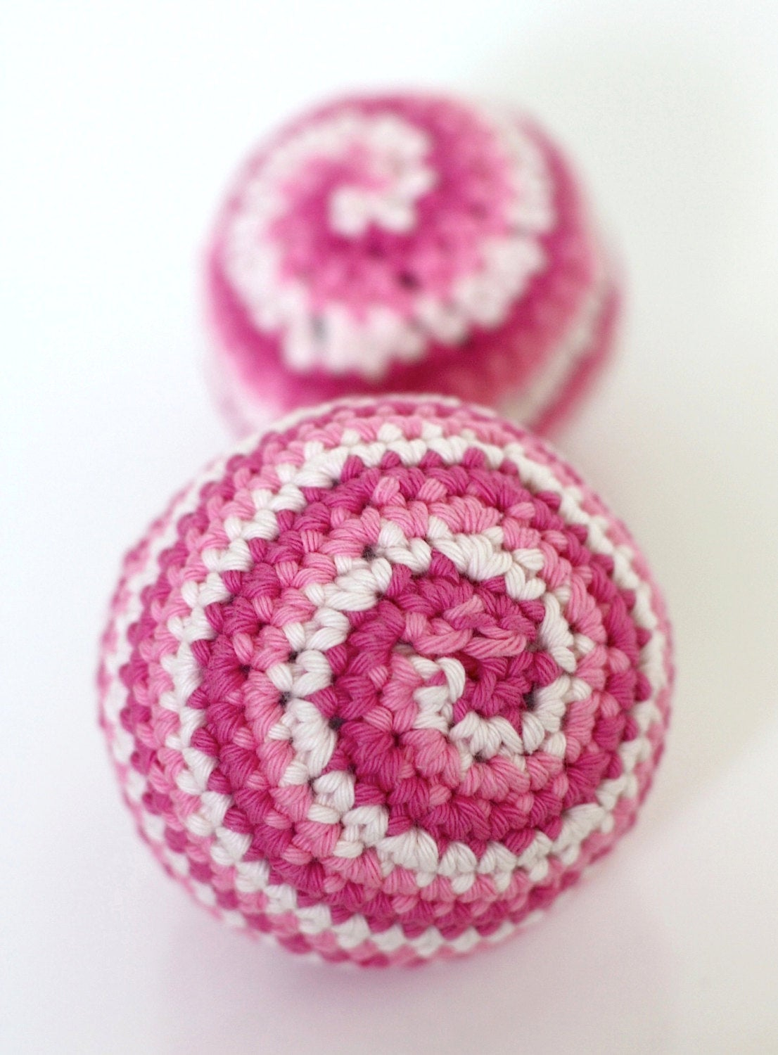 Crochet Ball Pattern Ba Candy Spiral Ball Crochet Toy Pattern Digital Etsy