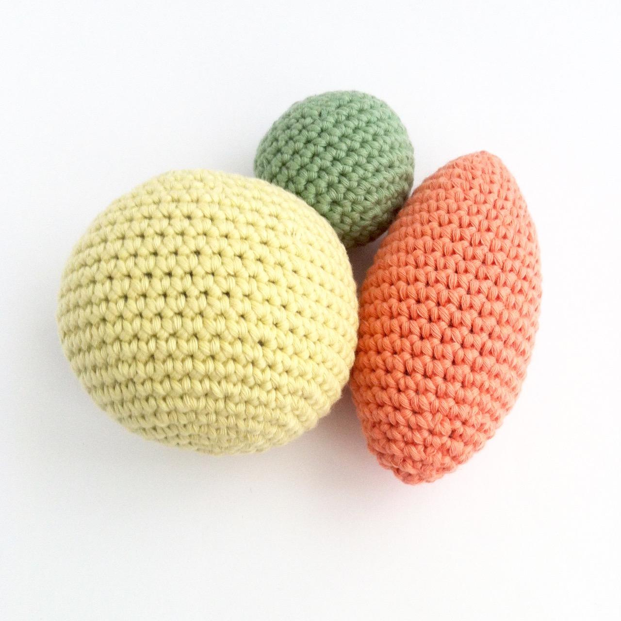 Crochet Ball Pattern Crochet Ornament Pattern Little Conkers