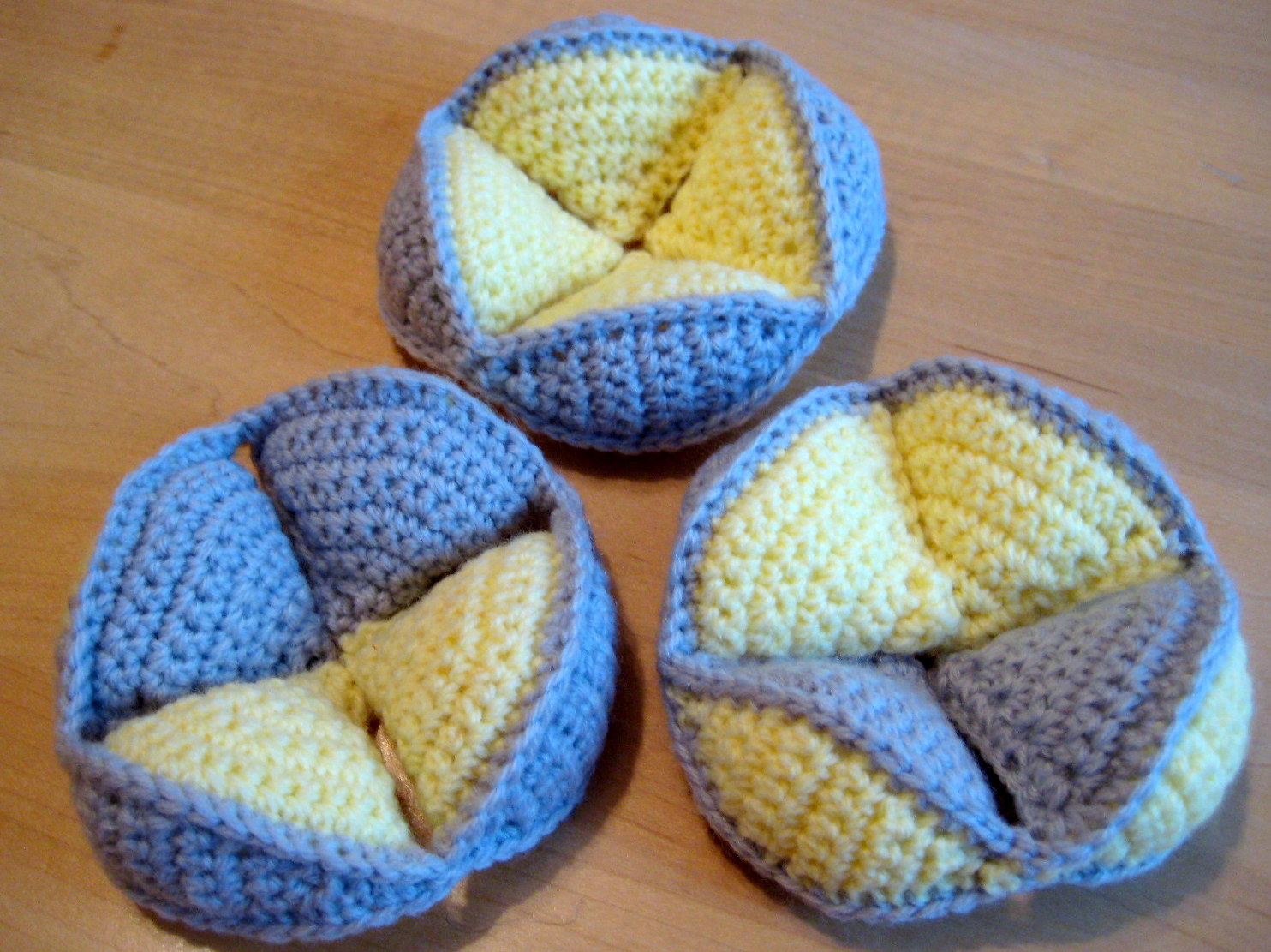 Crochet Ball Pattern Crochet Puzzle Ball Make My Day Creative
