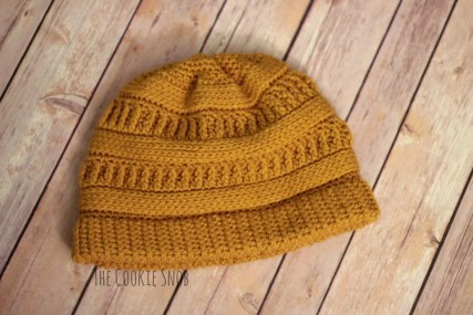 Crochet Beanie Pattern 3 Ml Beanie The Cookie Snob