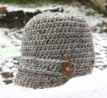 Crochet Beanie Pattern Crochet Brimmed Hat Repeat Crafter Me