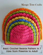 Crochet Beanie Pattern Free Basic Beanie Crochet Pattern All Sizes