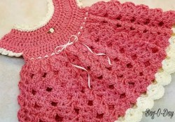 Crochet Dress Pattern Baby Learn How To Crochet Strawberry Shortcake Ba Dress 0 6 Months