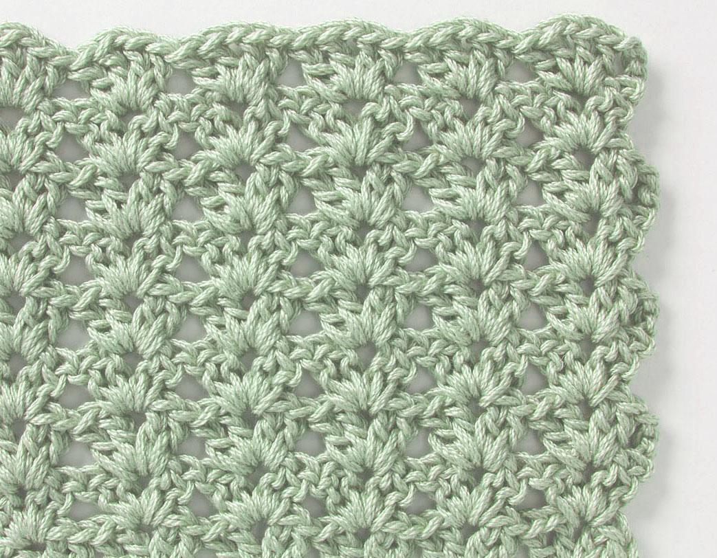 Crochet Stitch Pattern  Free Crochet Stitch Shell Pattern Crochet Kingdom