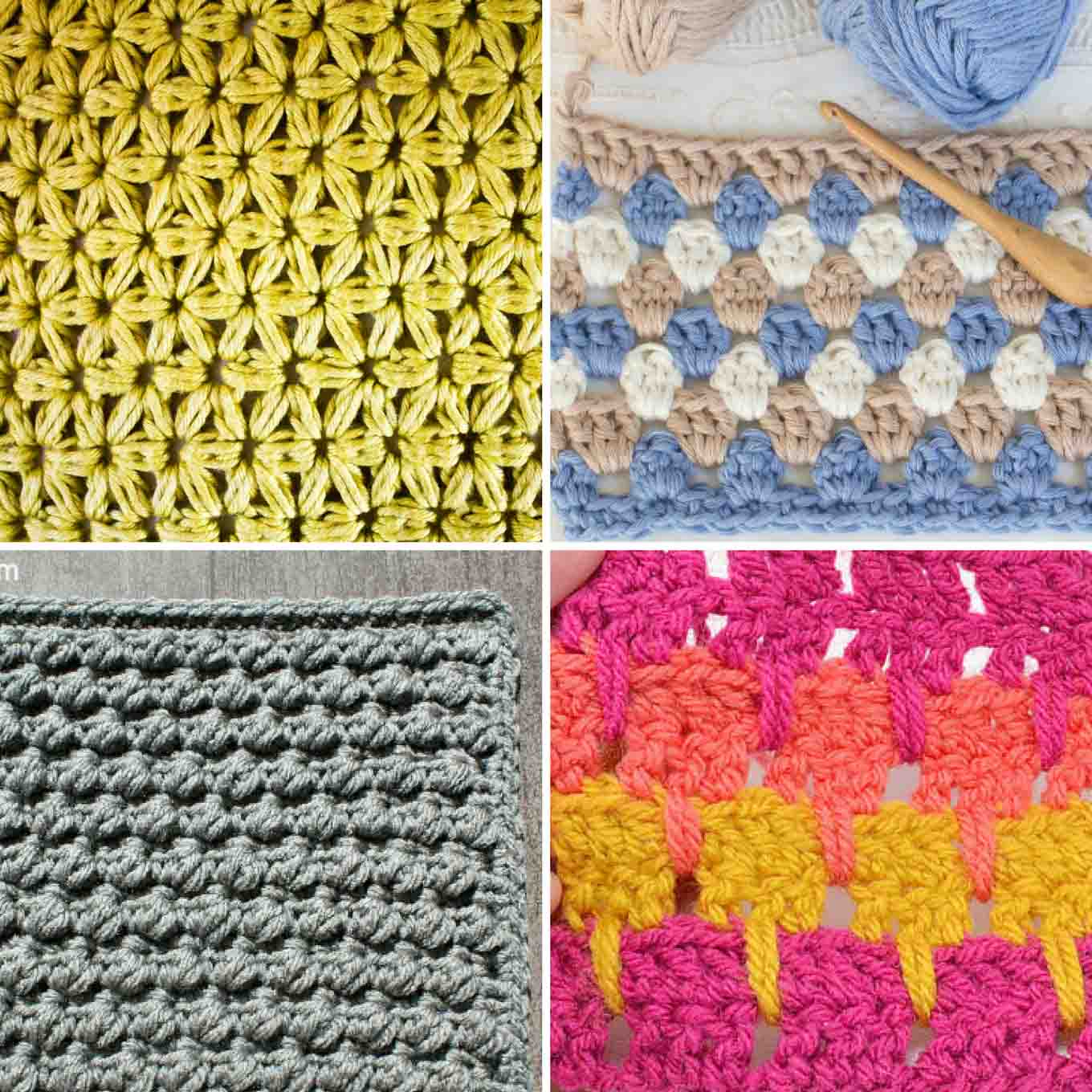 Crochet Stitch Pattern  Simple Tips To Master Crochet Stitches Crochet And Knitting