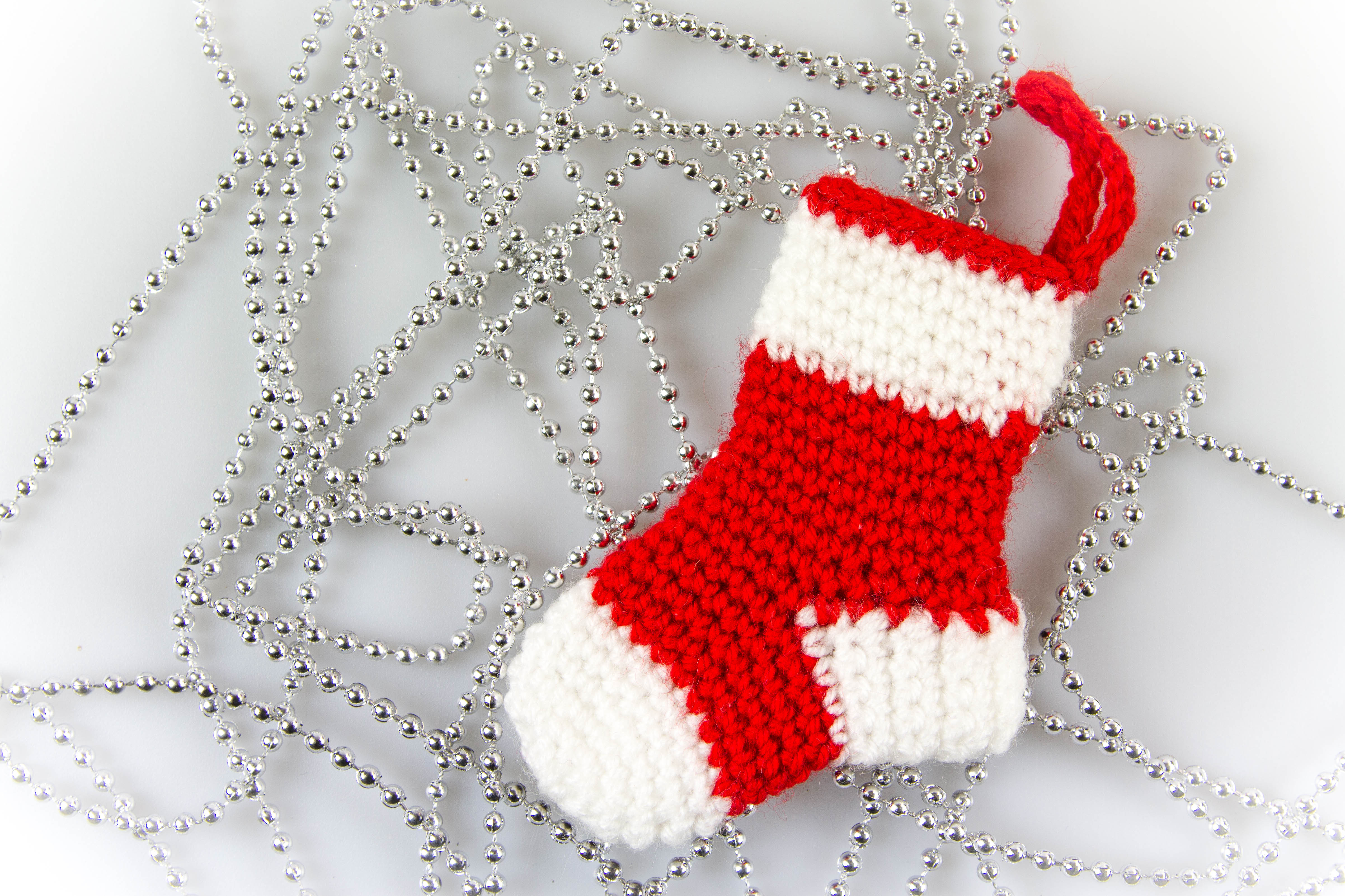 Crochet Stocking Pattern  Amigurumi Christmas Socks Ornaments Crochet Pattern