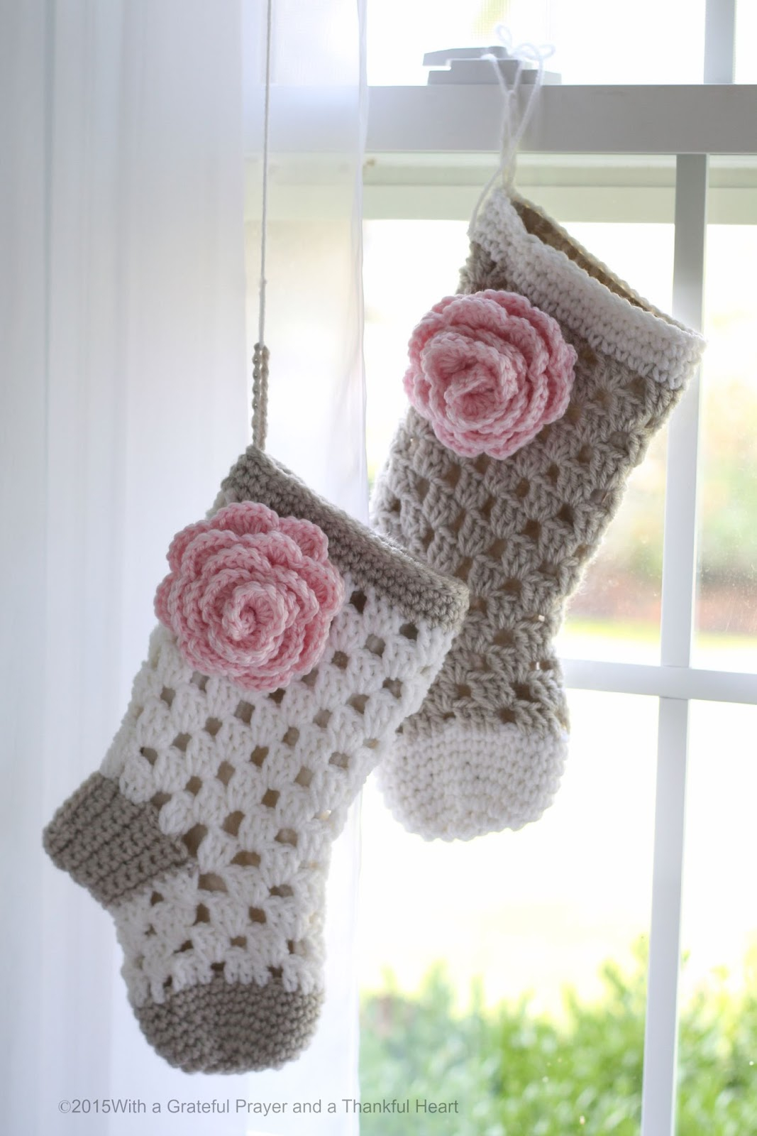 Crochet Stocking Pattern  Babies 1st Christmas Crochet Stocking Pattern For Shower Gift