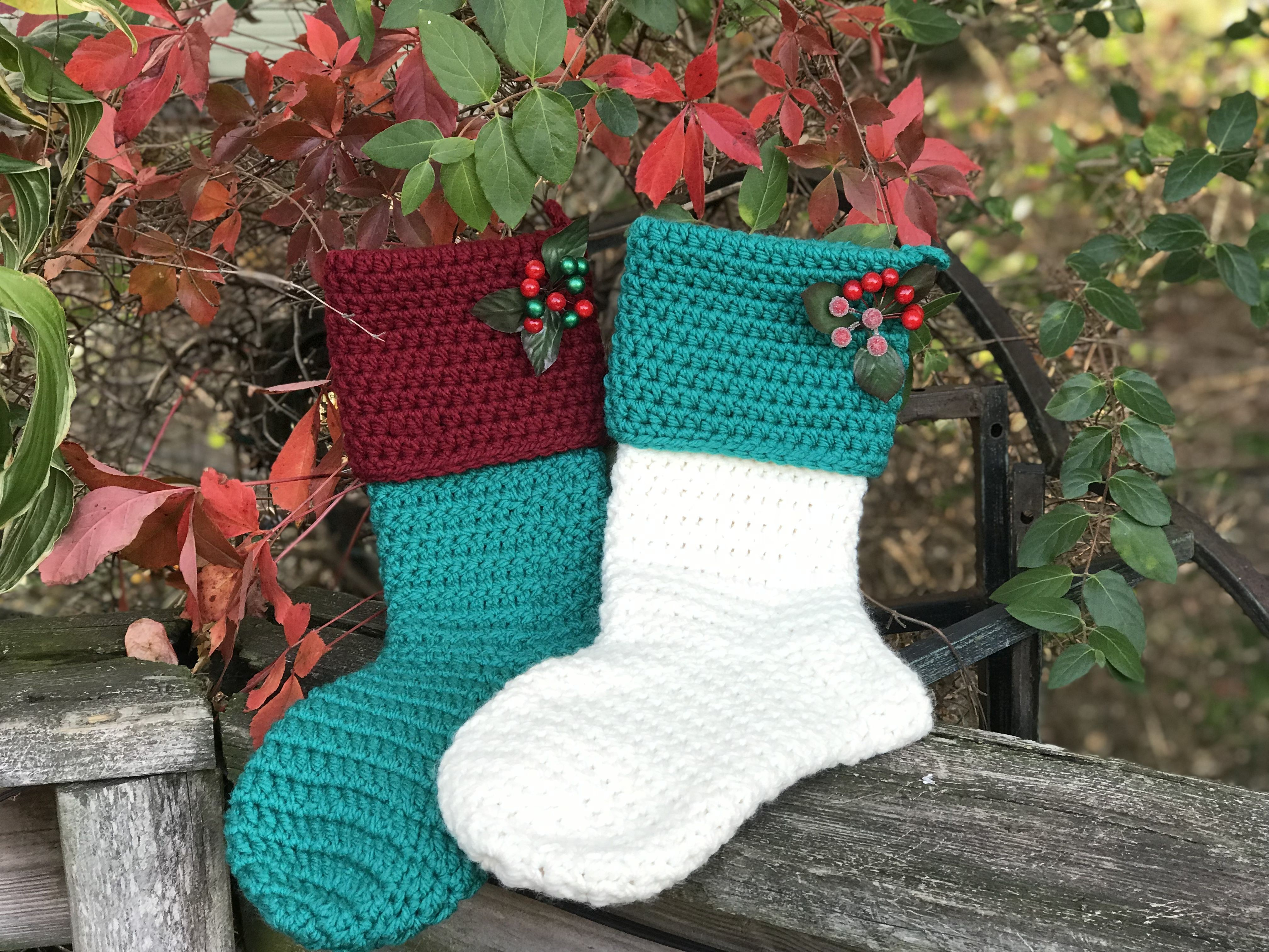 Crochet Stocking Pattern  Crochet Stocking Pattern Inspirational Pin Theresa Tatarian Corso